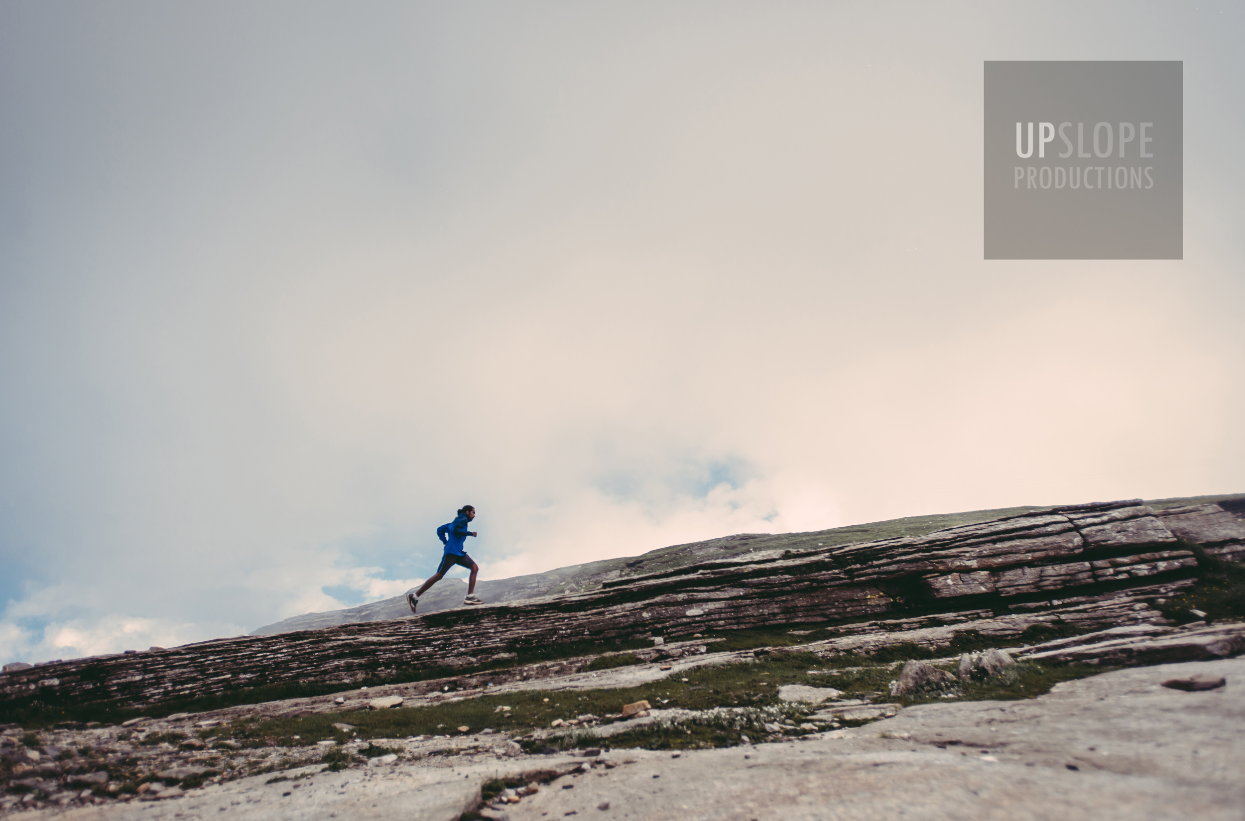 A training run, somewhere in the Himalayas