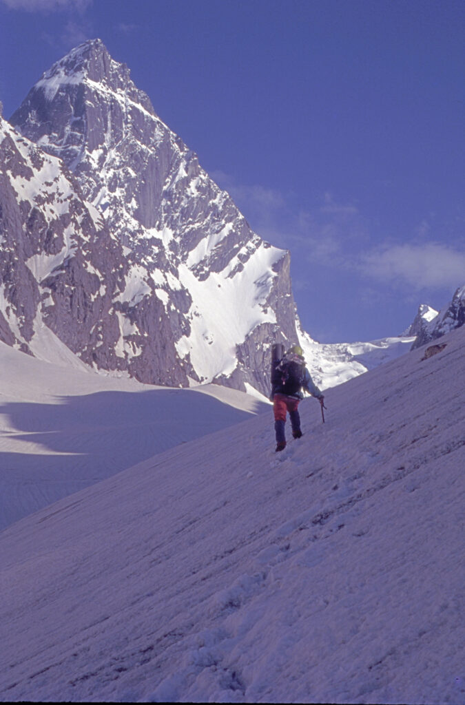 Alka climbing Mt.Ali Ratni Tibba in Kullu