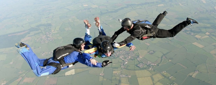 TOP 5 SKYDIVE FAILS CAUGHT ON CAMERA - YouTube