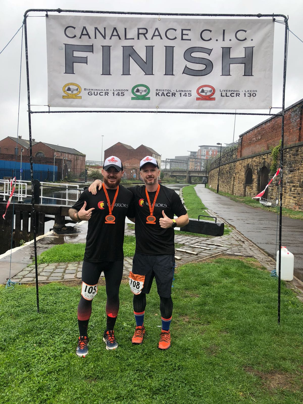 2018: Mile 130 of Liverpool to Leeds finishing joint 11th whilst raising awareness for CF Warriors.