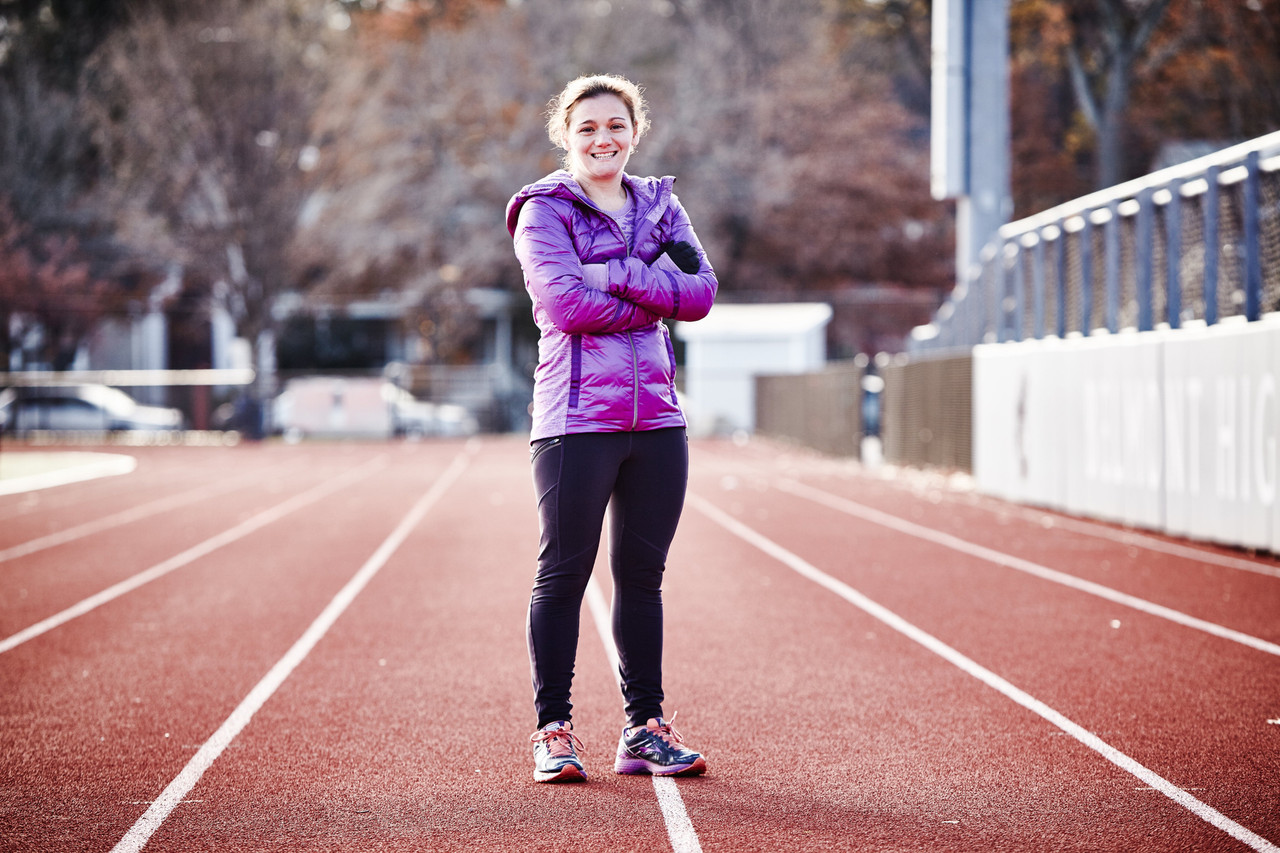 Becca Pizzi: 7 marathons in 7 days on 7 continents. Twice.