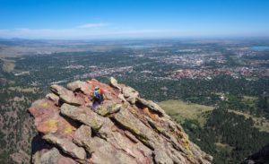 living in Boulder, Colorado