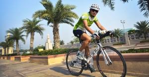vasu primlani training for first ironman distance triathlon