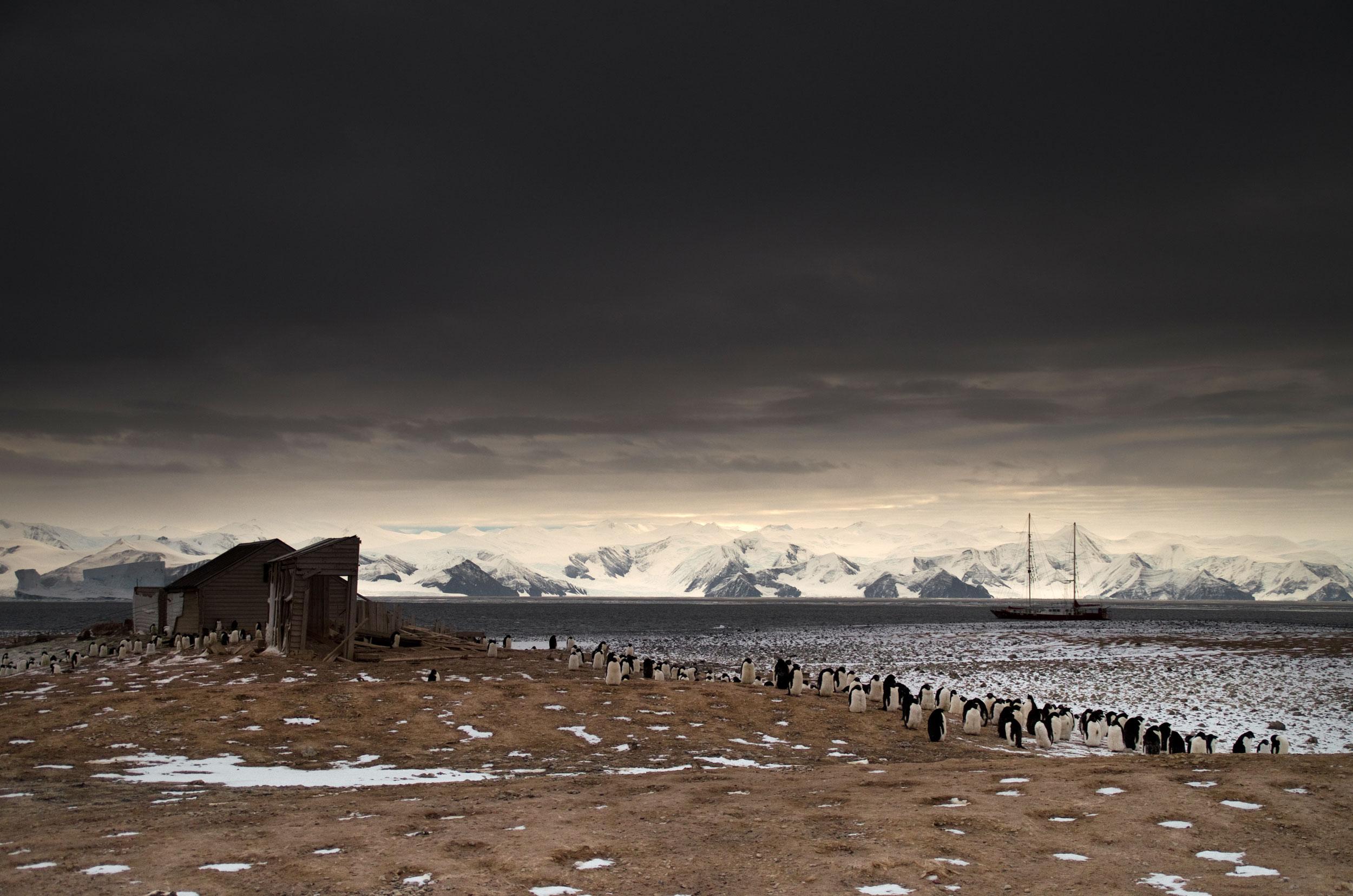 Dramatic beach. Photo: Nico Edwards