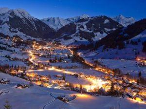 Postcard picturesque. Photo © Snow Bike Festival, GSTAAD