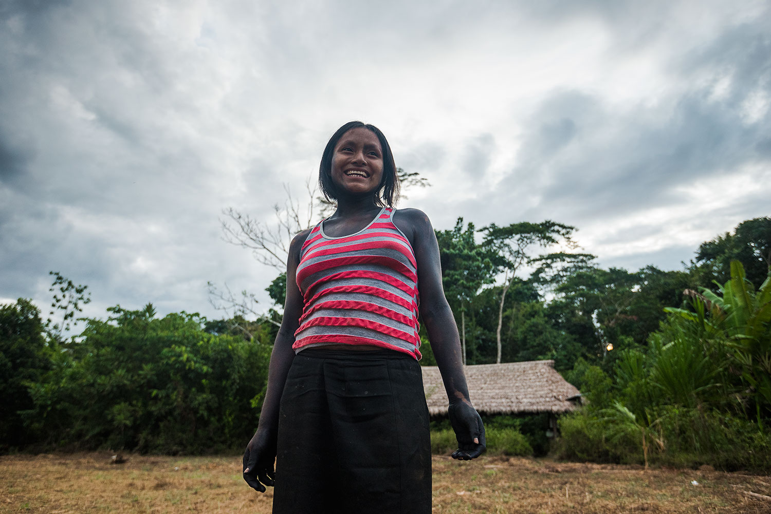 Rita Mambiro is a member of a growing number of young Matsigenka women who embrace both their traditional heritage and a changing role for women in their society. Photo: Lina Collado