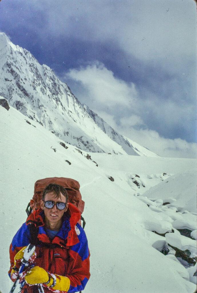 Roland Tyson in Kishtwar on Trans Himalayan ski Traverse