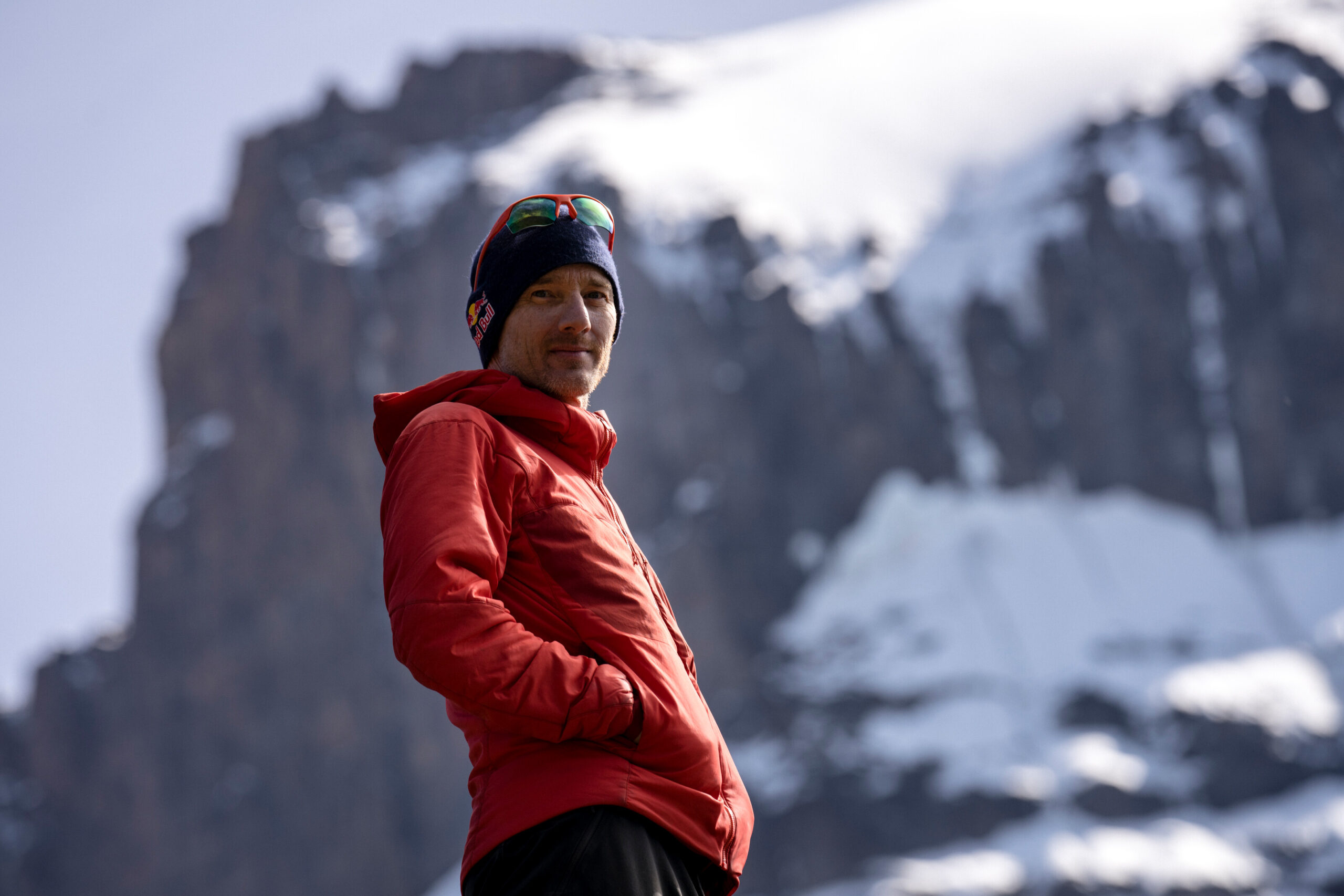 Will Gadd poses for a portrait on Mt Kilimanjaro on 20 February, 2020 in Tanzania, Africa. // Christian Pondella/Red Bull Content Pool