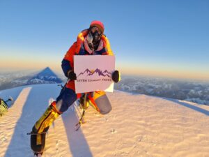 Sona Sherpa on K2 first winter summit