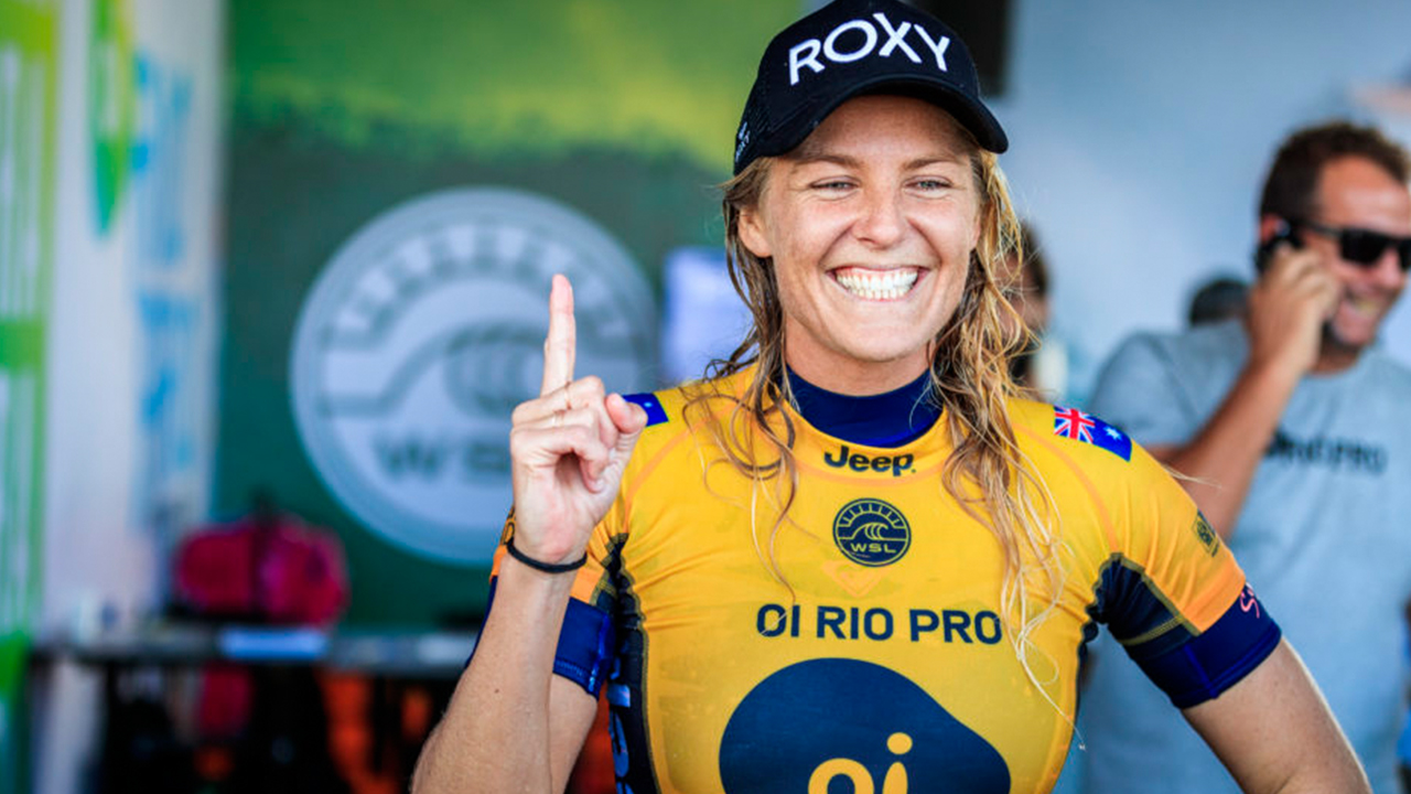 Three months after announcing equal pay for men and women, the World Surf League celebrates Stephanie Gilmore's 7th World Title