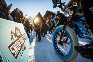 Ready. Set. Go! Photo © Snow Bike Festival, GSTAAD